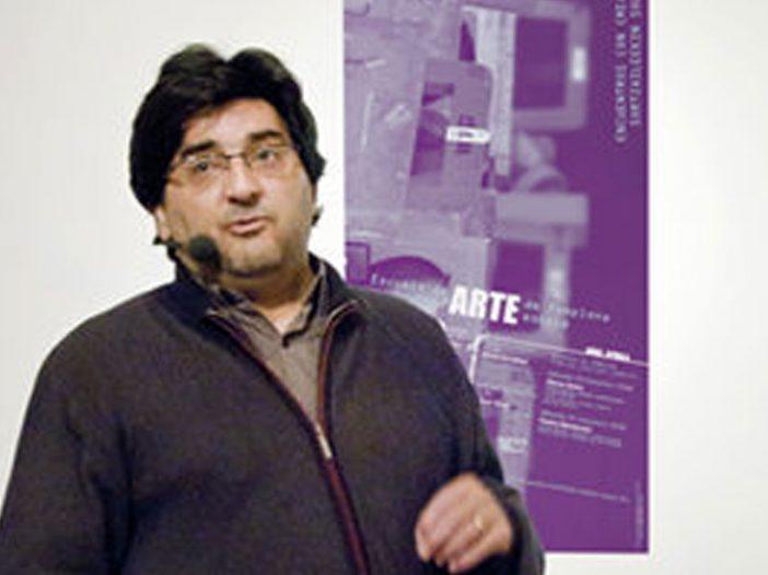 Blas Campos en la Escuela de Arte de Pamplona