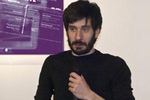 Jorge Gil en la Escuela de Arte de Pamplona