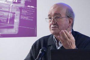 Pedro Manterola en la Escuela de Arte de Pamplona