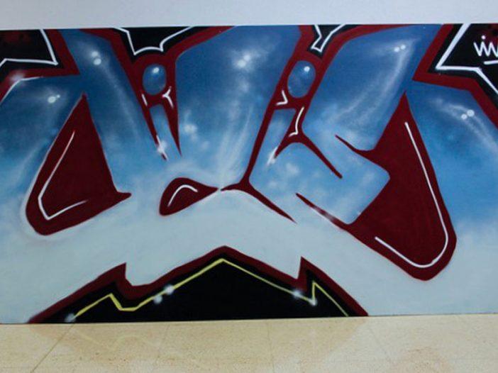 Exhibición de Graffiti en la Escuela de Arte de Pamplona