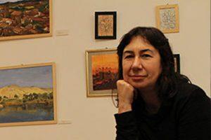 La alumna de Grabado Mila Boj expone en Dormitalería 54