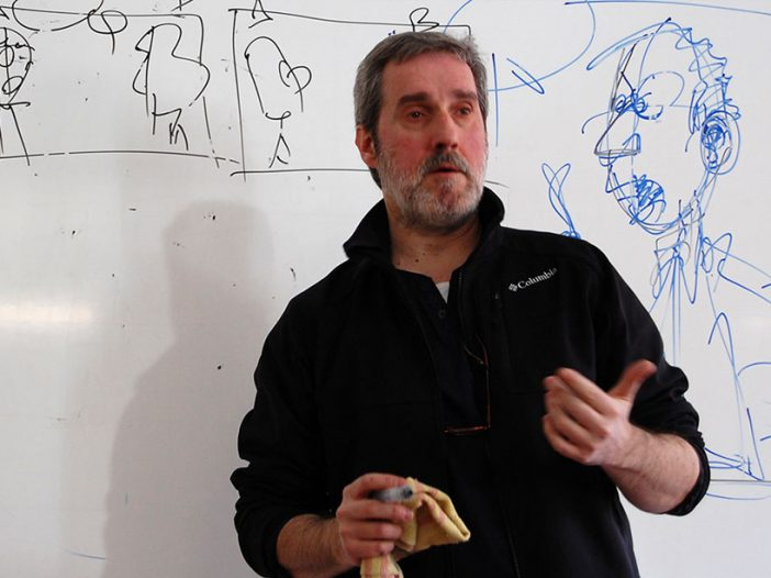 "José Ángel Lopetegi ""Lope"", en la Escuela de Arte de Pamplona"