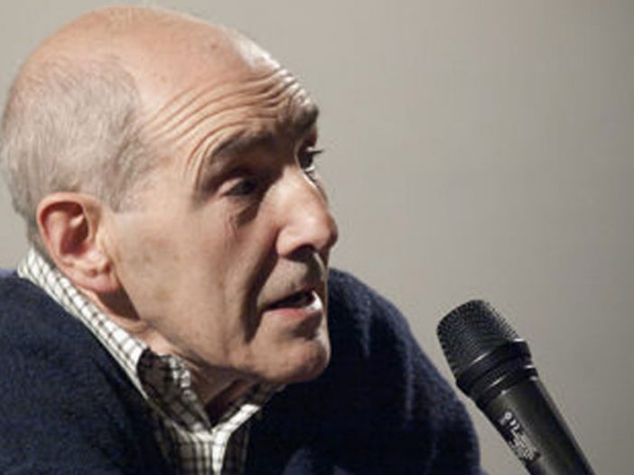 José Ramón Anda en la Escuela de arte de Pamplona