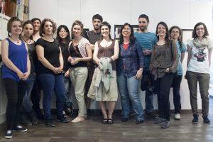 """Exposición de grabados de la Escuela, hasta el 27 de junio en """"Begira"""""""