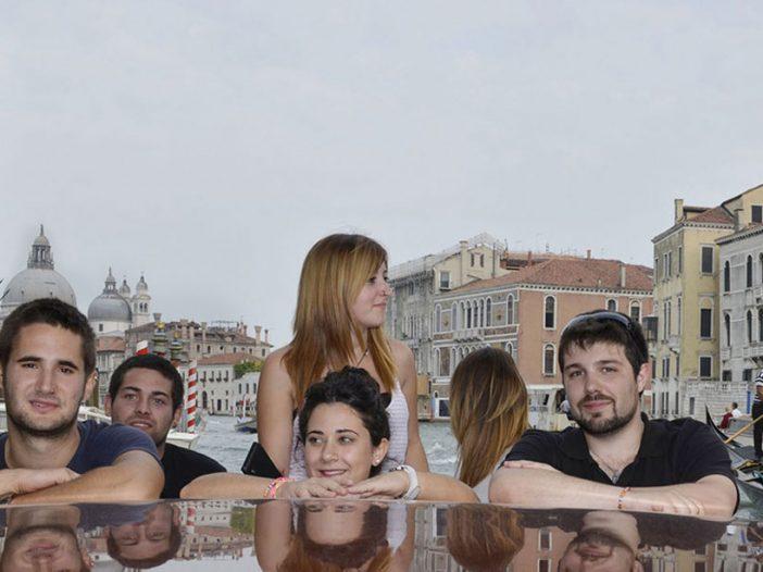 13 becas Leonardo Da Vinci y Erasmus+ realizadas por otros tantos alumnos y alumnas de la Escuela