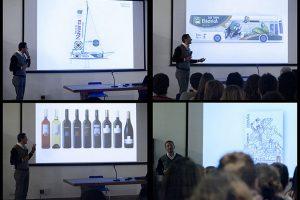 José Miguel Parra presenta al alumnado sus trabajos de los últimos quince años en el mundo del diseño