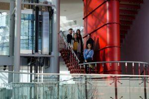 Visita de los alumnos de Fotografía al Museo Würth de Logroño