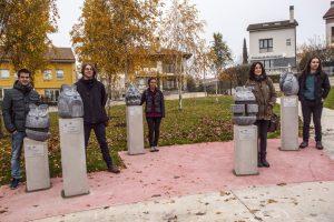 """""""Phantasmagoriana"""". 2ª edición de esculturas en la calle en Zizur Mayor"""