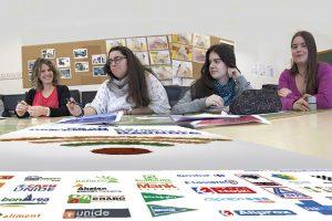 Alumnado de Gráfica Impresa colabora con el Banco de Alimentos de Navarra
