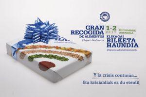 Cartel para Banco de Alimentos realizado por el alumnado del ciclo de grado medio de Gráfica Impresa