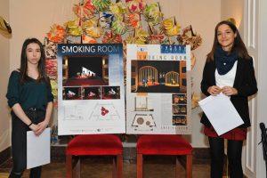 Saray Tambo Borromeo ganadora del proyecto escenográfico Smoking Room