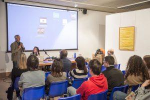 Charla del arquitecto Ricardo Santonja para presentar los productos Cosentino
