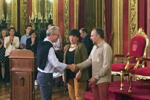El alumno Alfredo Salinas Garrido galardonado con el premio extraordinario a las enseñanzas de Artes Plásticas y Diseño