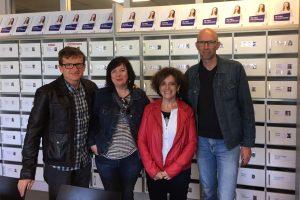 La orientadora del centro Ane Osés regresa de Holanda, dónde ha disfrutado de una beca Erasmus