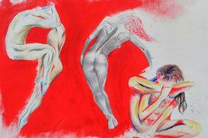 Propuesta Figuras Etéreas del alumnado de Bachillerato en dibujo artístico