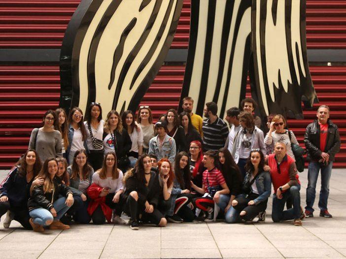 Viaje cultural de 2º de Bachillerato a Madrid y Toledo organizado por el departamento de Historia