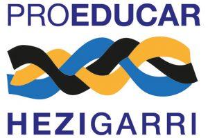 1ºAPGImpreso realiza el logo Pro-educar/ Hezigarri