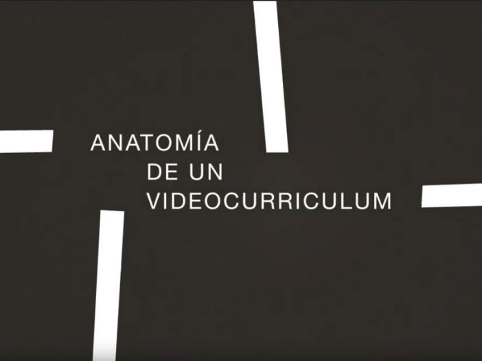 Currículum en formato audiovisual