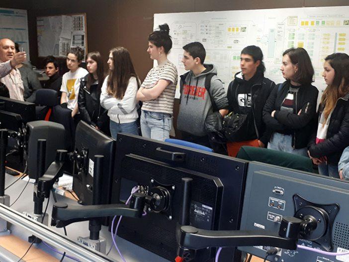 Visita de Gráfica Audiovisual a TVE