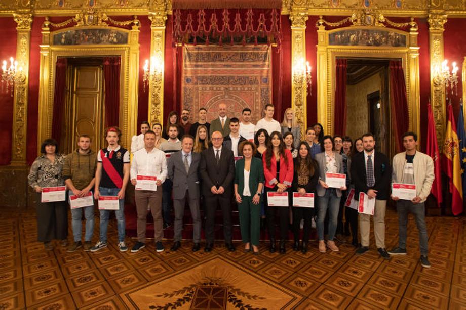 Premio de reconocimiento para dos alumnas y un alumno de Ciclos de la Escuela de Arte y Superior de Diseño de Pamplona