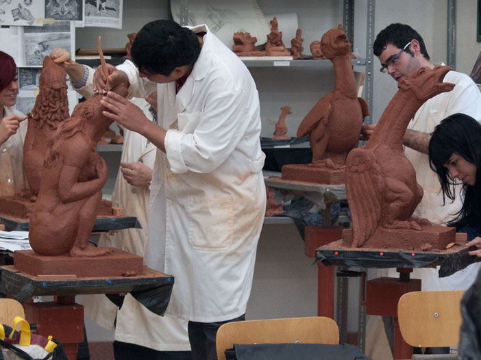 Técnicas escultóricas